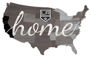 Los Angeles Kings USA Shape Home Cutout