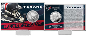 Houston Texans 2020 Team History Coin Card