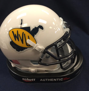 wvu football, 1979 throwback mini helmet