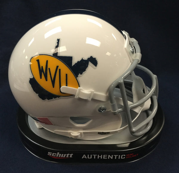 wvu football, 1971-72 throwback helmet