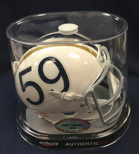 West Virginia Mountaineers 1959 Authentic Throwback Mini Football Helmet