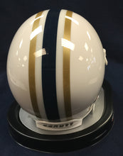 West Virginia Mountaineers 1960-62 Authentic Throwback Replica Mini Football Helmet