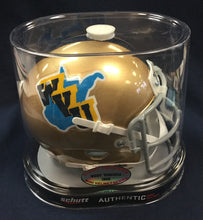 West Virginia Mountaineers 1965 Throwback Replica Mini Football Helmet