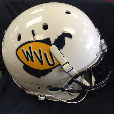 West Virginia Mountaineers Retro Throwback Full Size Helmet