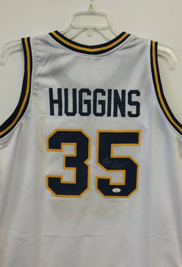 Bob Huggins West Virginia Mountaineer Signed WVU #35 White Basketball Jersey