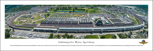 Indianapolis Motor Speedway 100th Anniversary Indy 500 Panoramic Picture