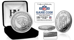 Jacksonville Jaguars 2020 Silver Game Coin