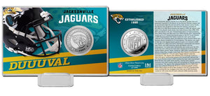 Jacksonville Jaguars 2020 Team History Coin Card