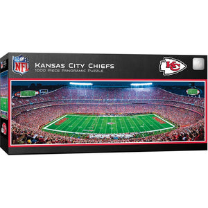 Kansas City Chiefs Panoramic Jigsaw Puzzle