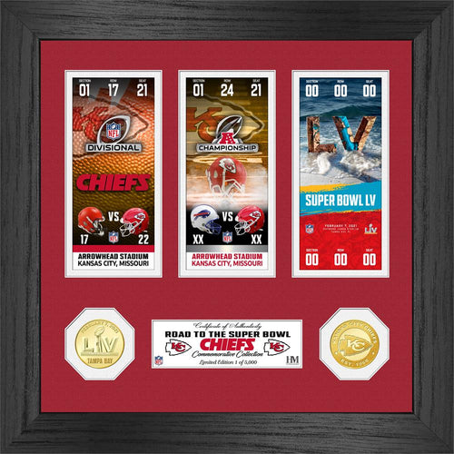 Kansas City Chiefs Road to Super Bowl 55 Bronze Coin Photo Mint