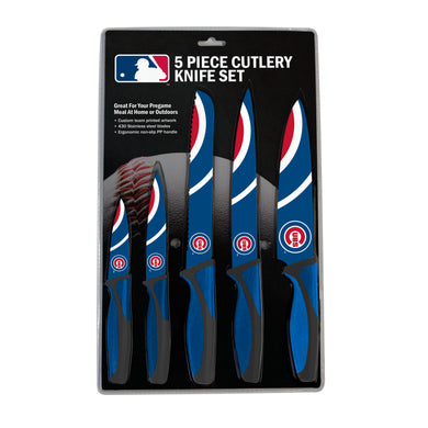 Chicago Cubs Kitchen Knives Set