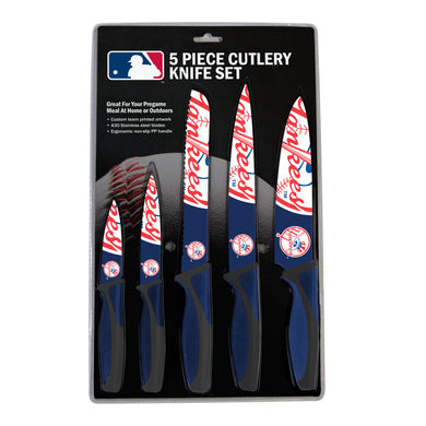 New York Yankees Kitchen Knives Set