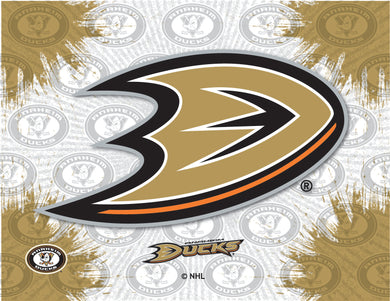 Anaheim Ducks Logo Canvas