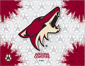 Arizona Coyotes Logo Canvas