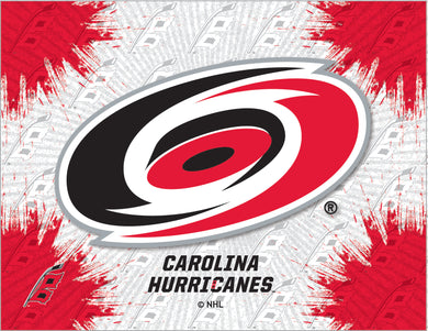 Carolina Hurricanes Logo Canvas