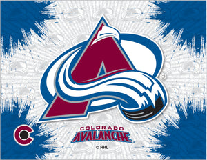 Colorado Avalanche Logo Canvas
