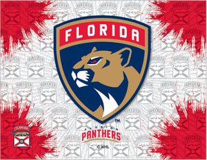 Florida Panthers Logo Canvas