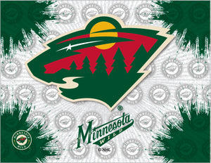 Minnesota Wild Logo Canvas