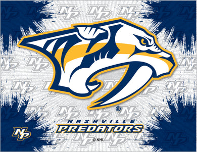 Nashville Predators Logo Canvas