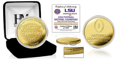 LSU Tigers 2019 Football National Champions