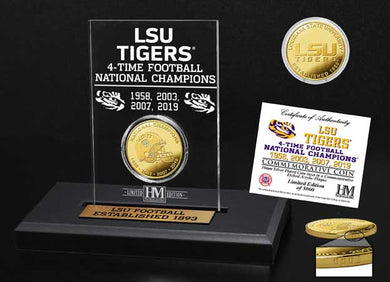 LSU Tigers 4-Time National Champions, lsu tigers 2019 CFP national champions