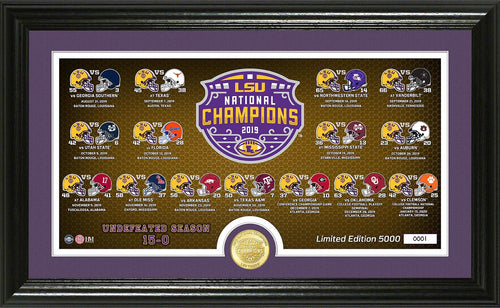LSU Tigers 2019 Football National Champions, lsu tigers 2019 CFP champions