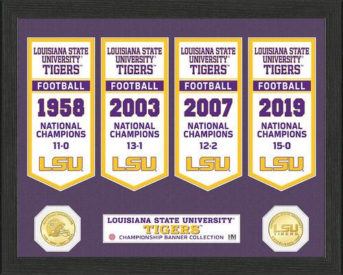 LSU Tigers 2019 Football National Champions, lsu tigers 4 time national champions