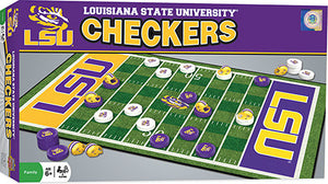 LSU Tigers Checkers