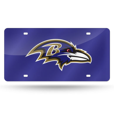 Baltimore Ravens  Laser Tag License Plate