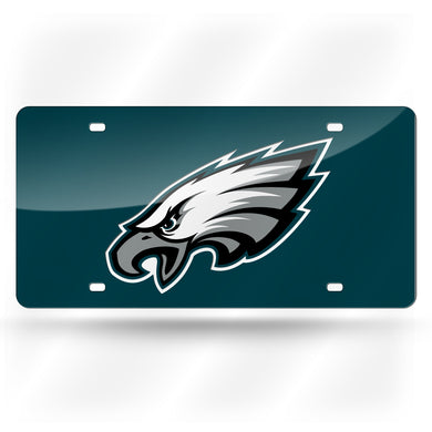 Philadelphia Eagles Green Laser Tag License Plate
