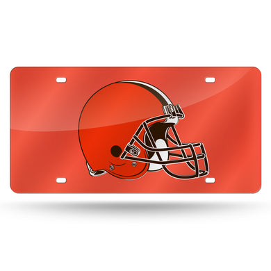 Cleveland Browns  Laser Tag License Plate