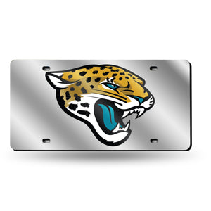 Jacksonville Jaguars Chrome License Plate