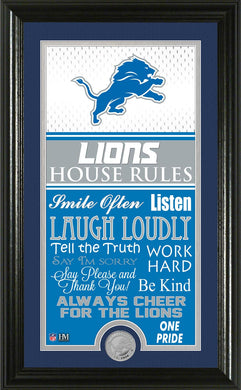 Detroit Lions House Rules
