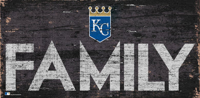 Kansas City Royals Family Wood Sign