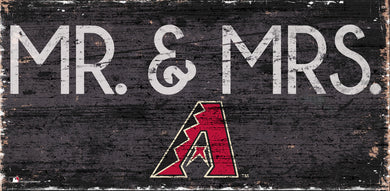 Arizona Diamondbacks Mr. & Mrs. Wood Sign - 6