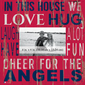 Los Angeles Angels  In this House Picture Frame