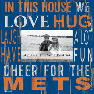 New York Mets In this House Picture Frame