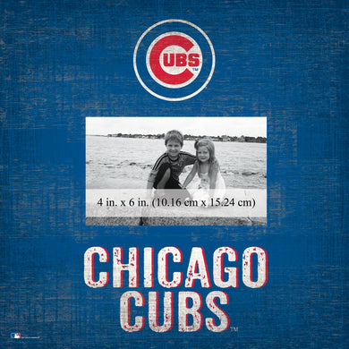 Chicago Cubs  Team Name Picture Frame