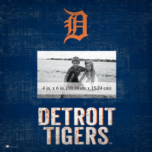 Detroit Tigers Team Name Picture Frame
