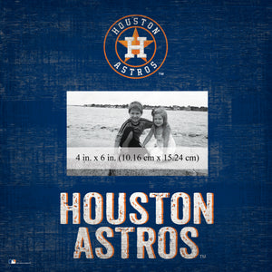 Houston Astros Team Name Picture Frame