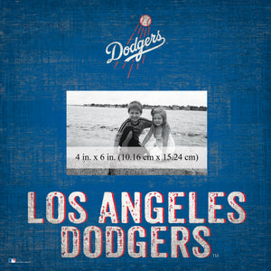Los Angeles Dodgers Team Name Picture Frame