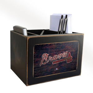 Atlanta Braves Desktop Organizer
