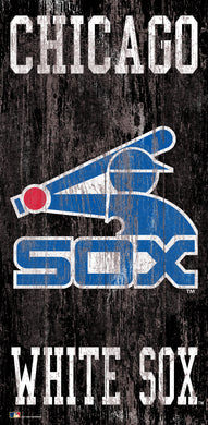 Chicago White Sox Heritage Logo Wood Sign - 6
