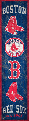 Boston Red Sox Heritage Banner Wood Sign - 6