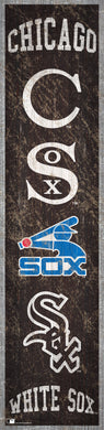 Chicago White Sox Heritage Banner Wood Sign - 6