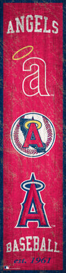 Los Angeles Angels Heritage Banner Wood Sign - 6