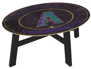 Arizona Diamondbacks Heritage Logo Coffee Table