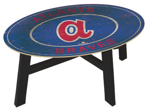 Atlanta Braves Heritage Logo Coffee Table