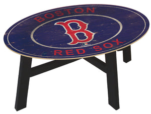 Boston Red Sox Heritage Logo Coffee Table