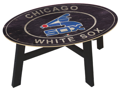 Chicago White Sox Heritage Logo Coffee Table